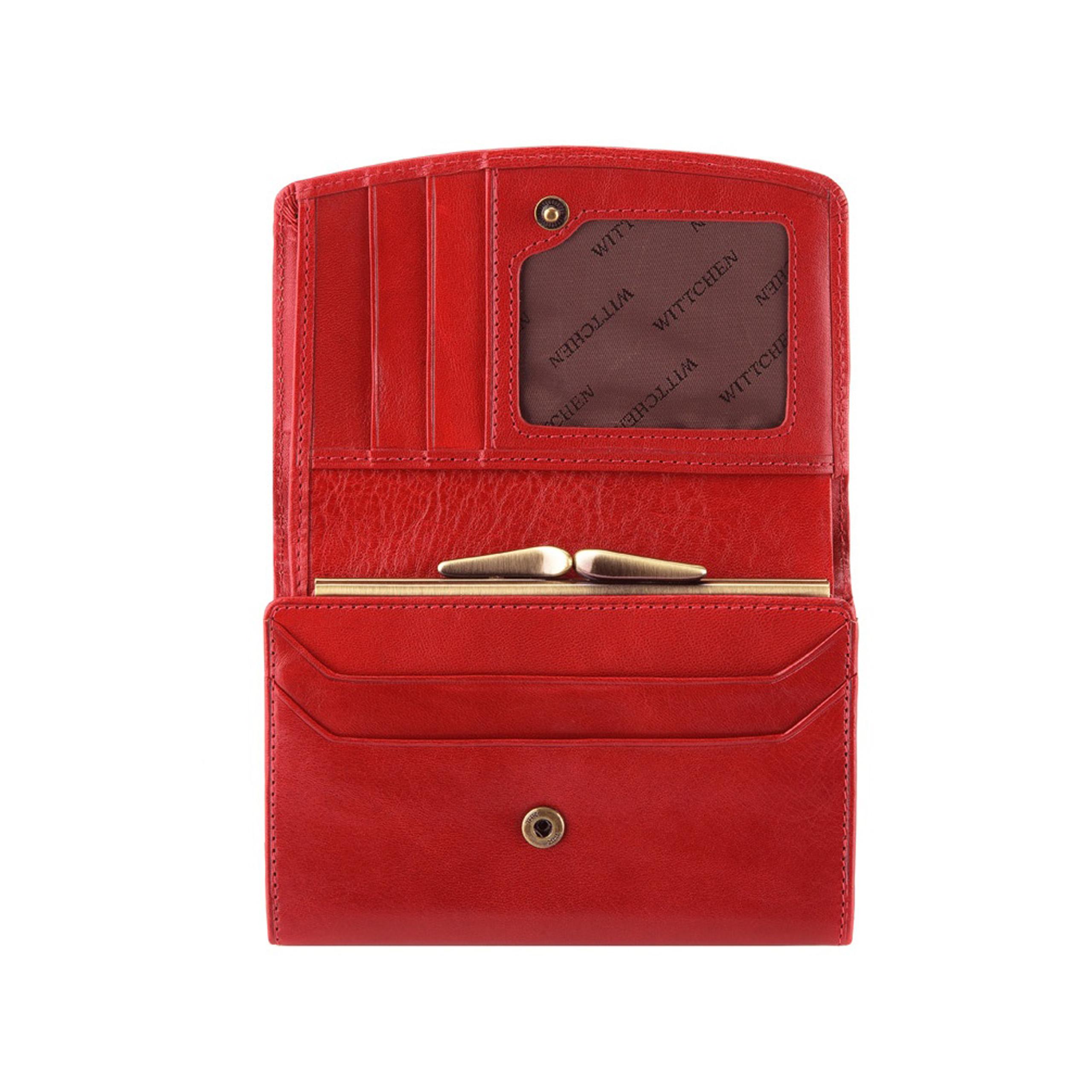 c5c8dbf38f838 Portfel Wittchen Arizona 10-1-062-3 czerwony. Oferta specjalna. Kod produktu:  10-1-062