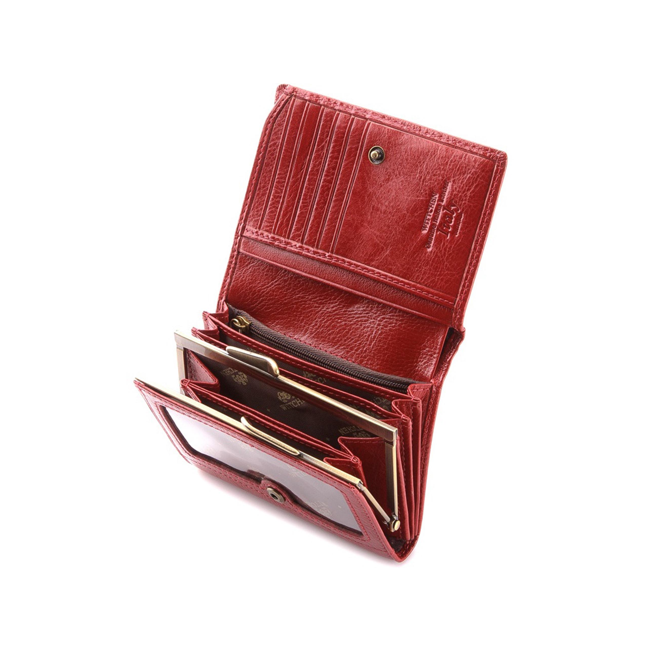 85b563b623d4a Portfel Wittchen Italy damski 21-1-070-3 czerwony. Oferta specjalna. Kod  produktu: ...