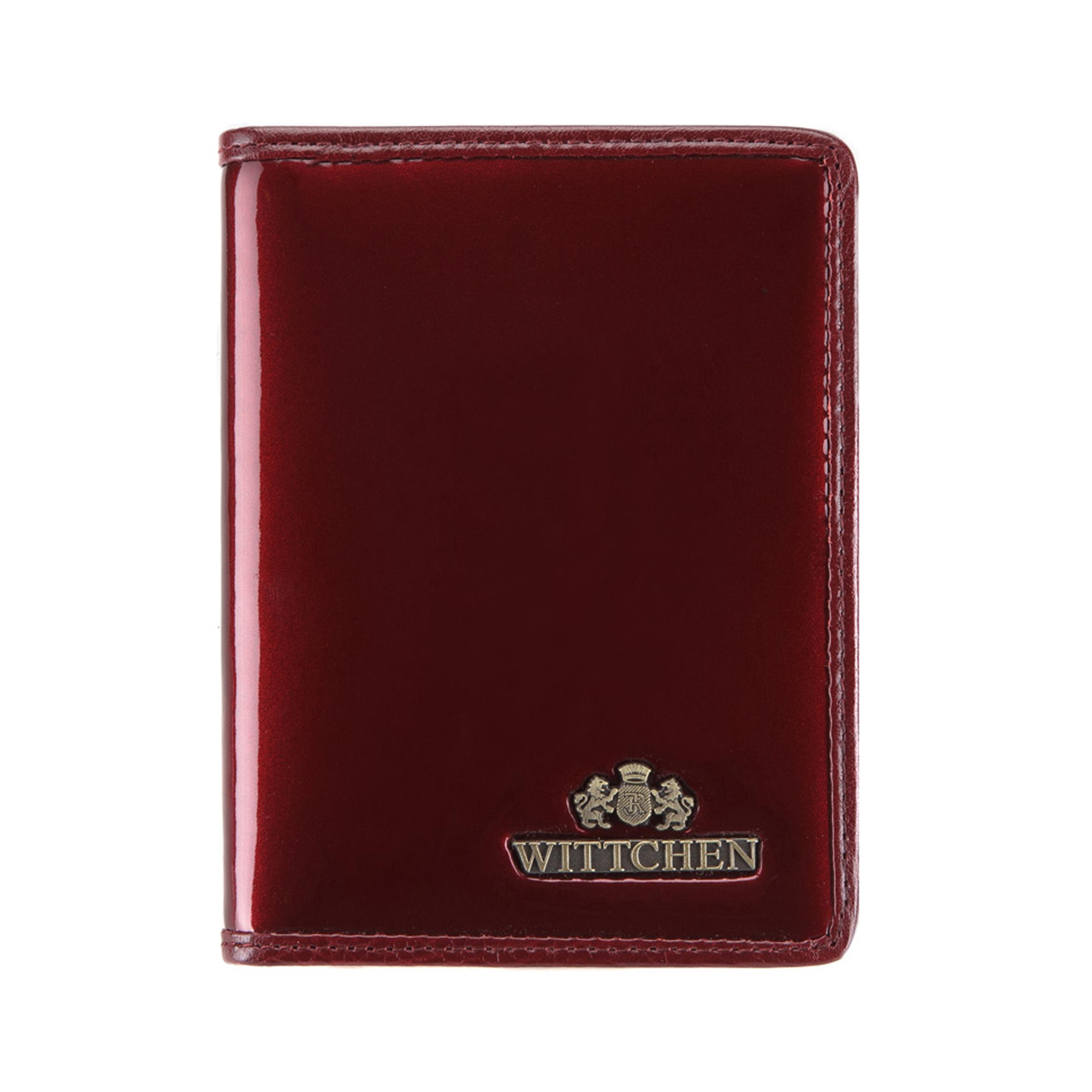 7dba74549320f Etui Wittchen VERONA na dokumenty 25-2-163-9 bordowy - New Line