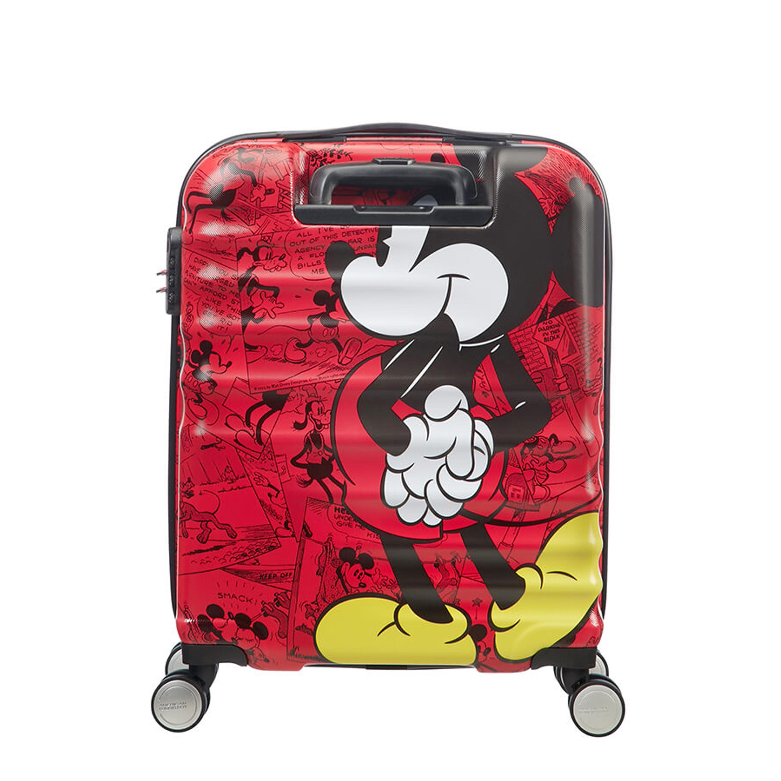b4fb57254b65e Walizka American Tourister Wavebreaker Disney Mickey Comics Red 31C 20 001