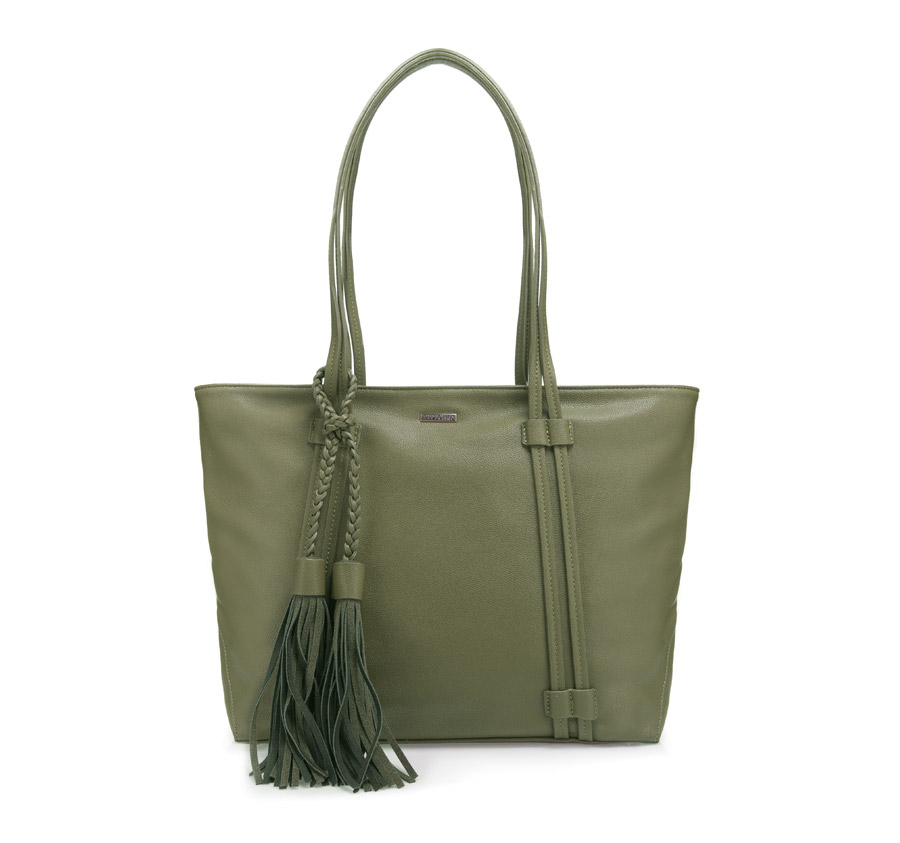 cc9df01c8943d Torebka Wittchen YOUNG Shopper Bag 85-4Y-203-Z Khaki - New Line
