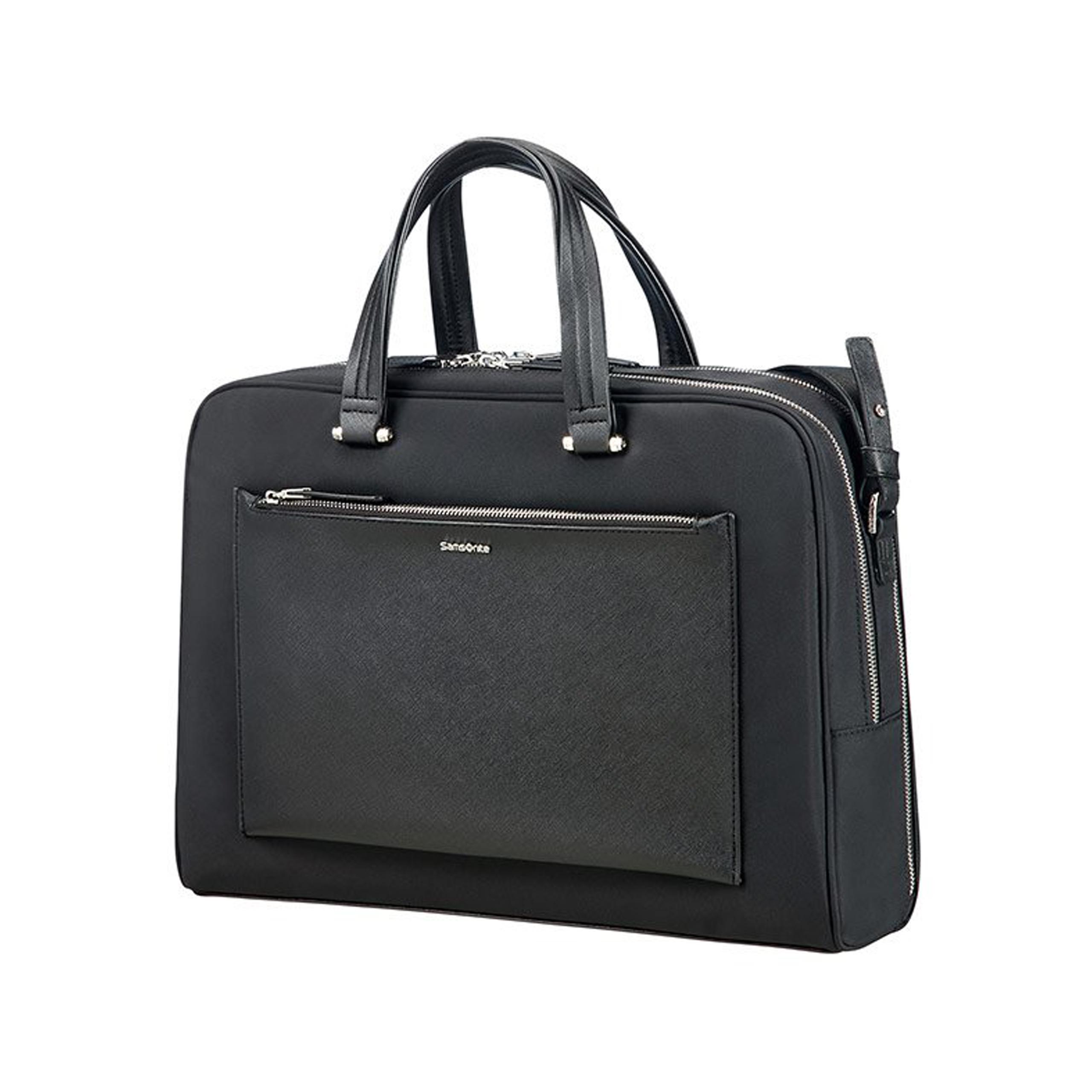 3f15fc0e66cc9 New Line - Torba na laptop 15,6'' Samsonite Zalia 85D 09 005 czarna ...
